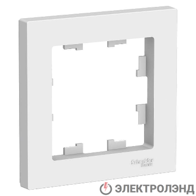 Рамка 1-м ATLAS DESIGN бел. SchE ATN000101